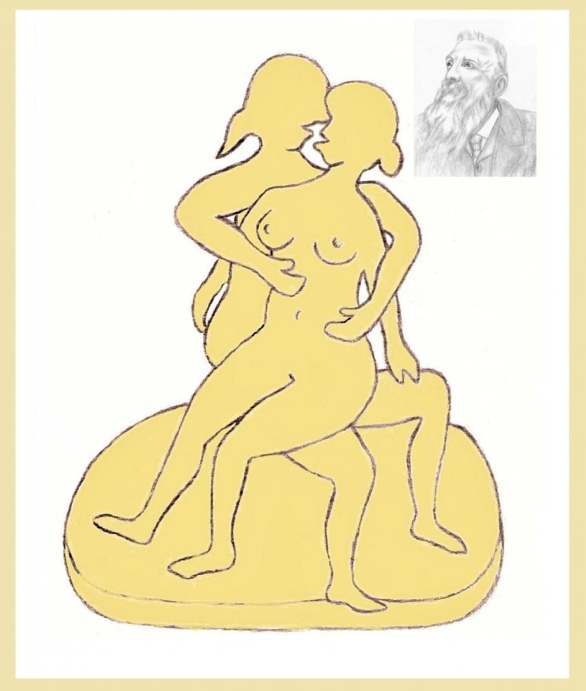 Auguste Rodin par Vuilletjossjoss